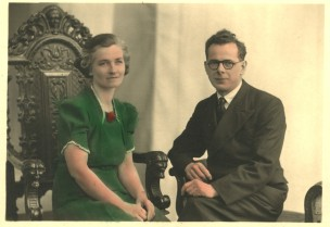 Rose (Cobb) and Frederick Crane