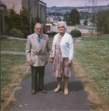 1985 - Gran and Grandad, Twerton, Bath 1