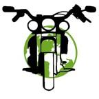 green biker, Green biker