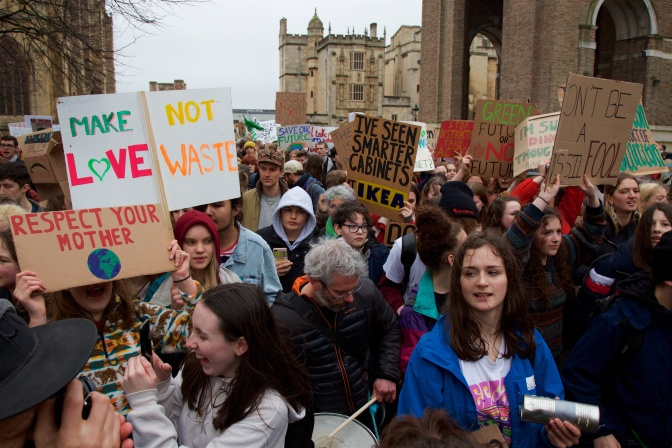 2019.03.15 004, Bristol #YouthStrike4Climate Global Strike